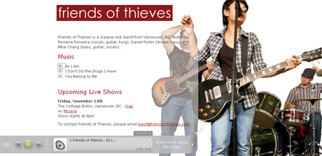 Friends of Thieves Website